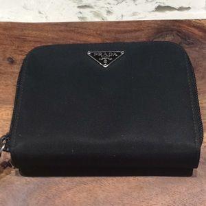 Prada Authentic Tessuto Wallet - Like New